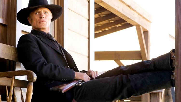 Ed Harris - Appaloosa: A törvényen kívüli város (Fotó: Cowboys and Indians Magazine)