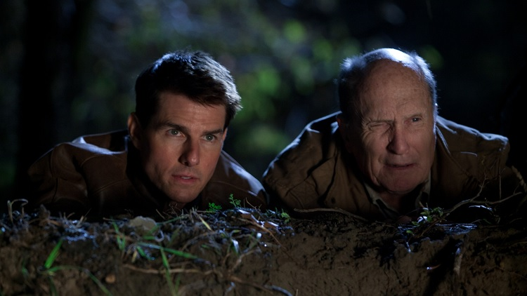 Tom Cruise, Robert Duvall - Jack Reacher (Fotó: Collider)